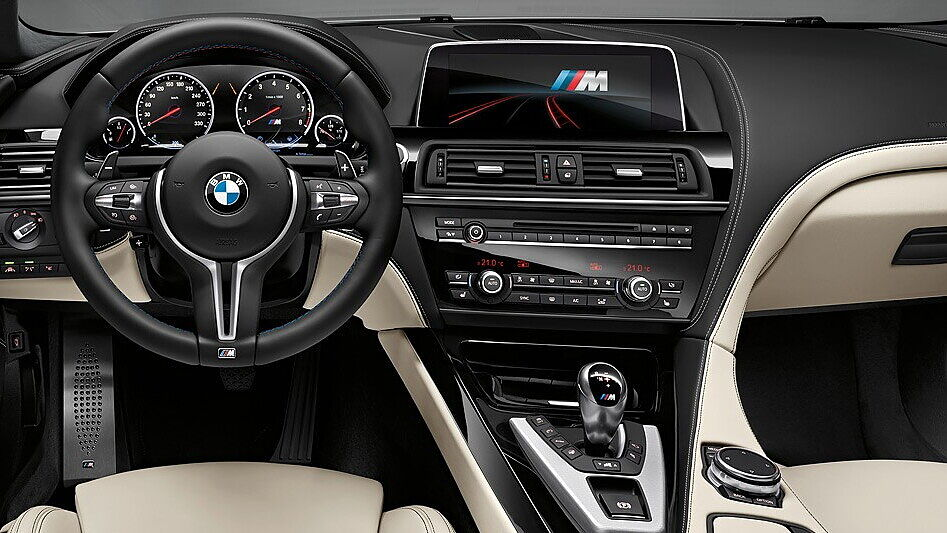 Car Tyres Offers >> BMW M6 Photo, Interior Image - CarWale
