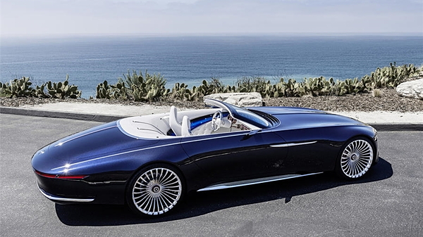 Photo Gallery Mercedes Maybach 6 Cabriolet All Electric Concept Car