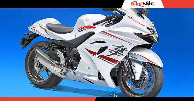 Next-gen Suzuki Hayabusa rendered - BikeWale