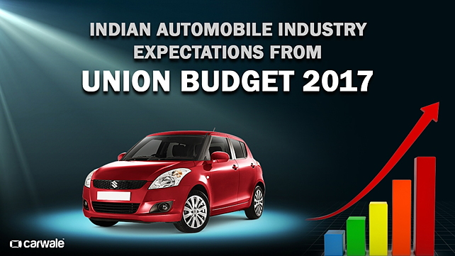 Indian automobile industry expectations from Union Budget 2017