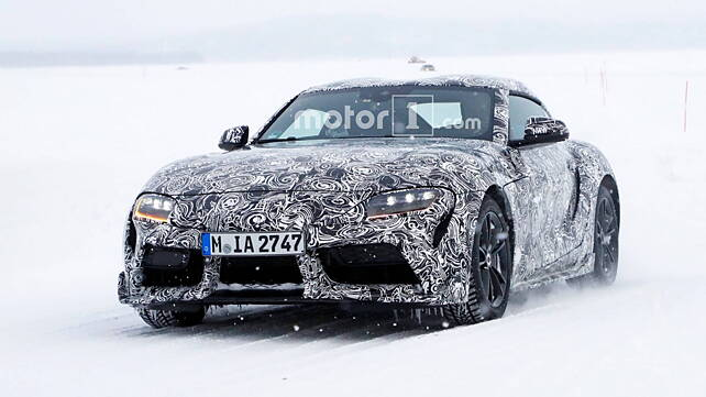 Toyota Supra sheds camouflage to reveal production body