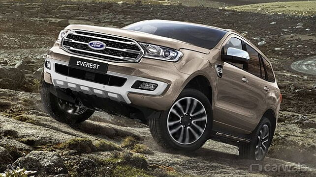 Ford Everest (Endeavour) facelift officially revealed