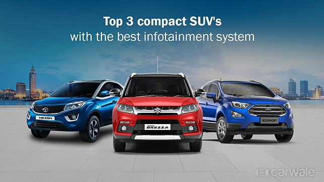 Top 3 compact SUV's with the best infotainment system