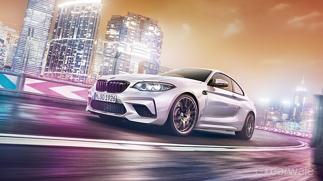BMW M2 Competition listed on the Indian website