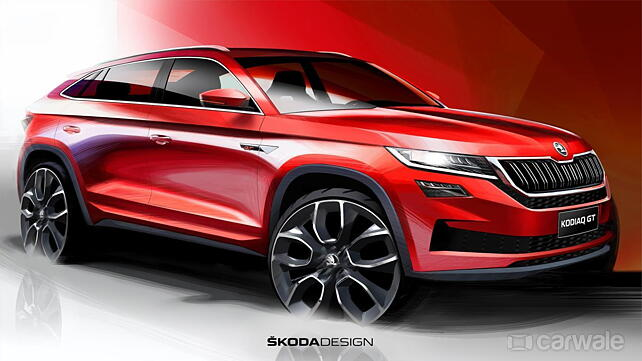 Skoda unveils the Kodiaq GT