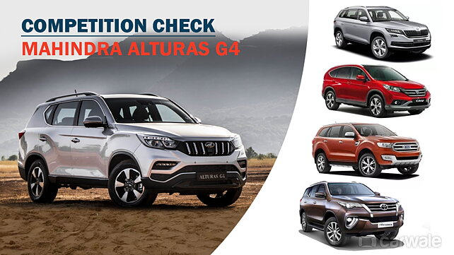 Mahindra Alturas G4 Competition Check