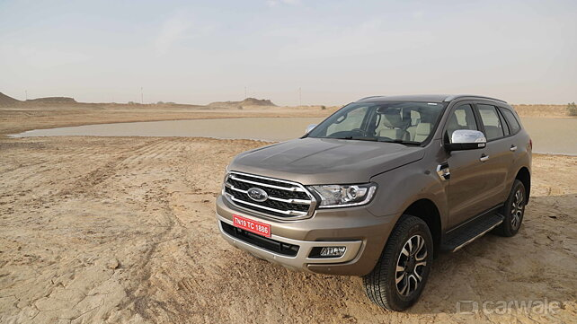 2019 Ford Endeavour to be launched in India tomorrow