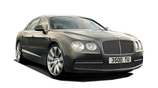 Bentley Continental Flying Spur Right Front Three Quarter